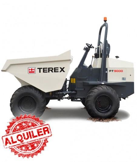 TEREX DUMPER PT9000 AP 4X4 ARTICULADO FRONTAL 9000 Kg