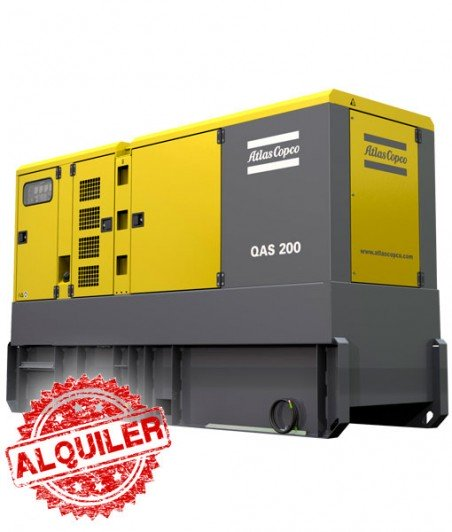ATLAS COPCO GRUPO ELECTRÓGENO QAS-200 KW