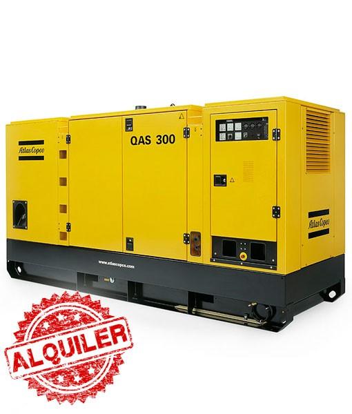 ATLAS COPCO GRUPO ELECTRÓGENO QAS-300 KW