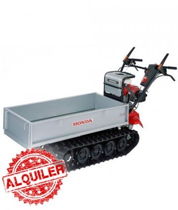 HONDA MINI DUMPER MANUAL ORUGA GASOLINA HP250 250K