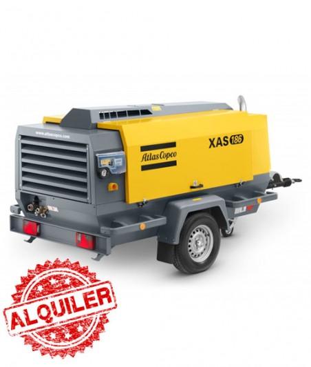 ATLAS COPCO XAS-186 COMPRESOR DIESEL 11000 L