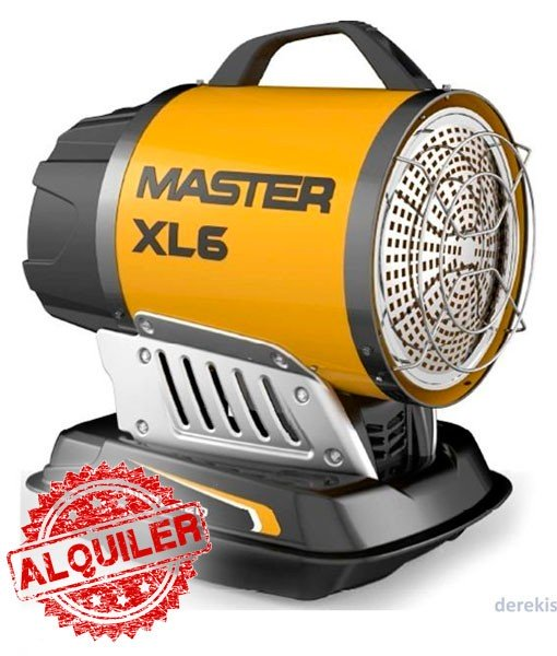 CALENTADOR RADIANTE MASTER XL6 DE GASOIL