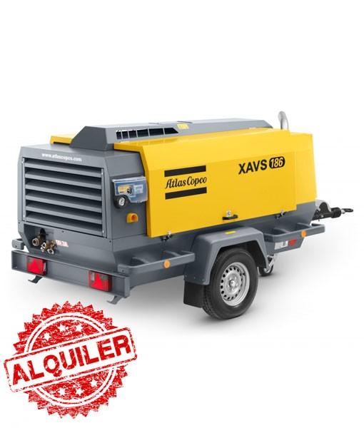 ATLAS COPCO XAVS-186 COMPRESOR DIESEL 16000 l