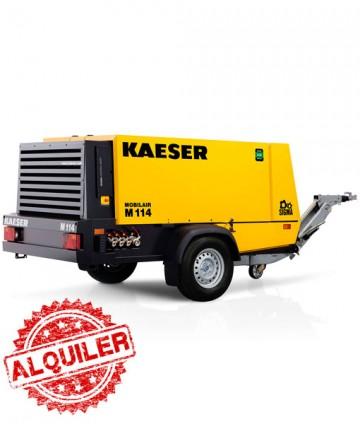 KAESER M114 COMPRESOR DIESEL 10000 l