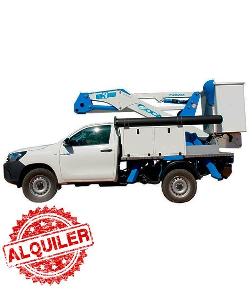 SOCAGE CABINA ELEVABLE 14 MTRS. 4X4 PICK UP