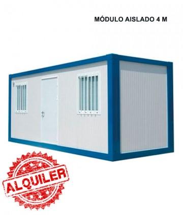 NUEVO SISTEMA MODULAR CASETA METALICA AISLADA 4 M