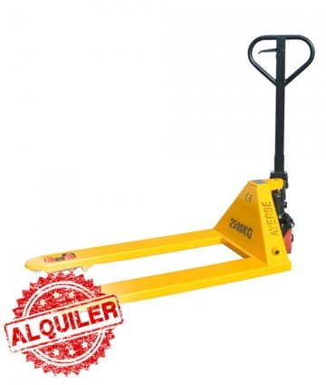 AYERBE INDUSTRIAL TRANSPALETA MANUAL AY-2500 PA 2500 Kg