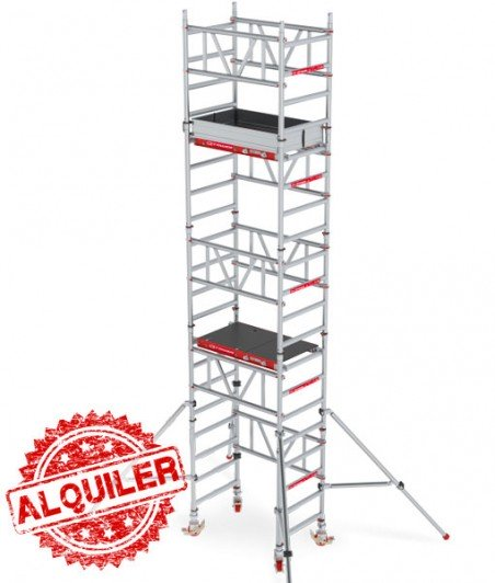 ALTREX TORRE ANDAMIO ALUMINIO 4,20 X 0,75 X 1,20 MITOWER