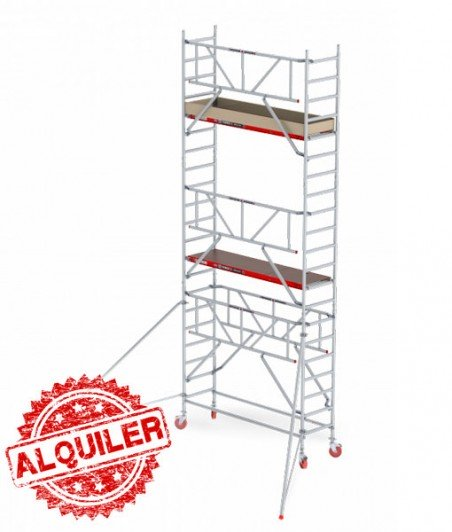 ALTREX TORRE ANDAMIO ALUMINIO 4,20 X 1,35 X 2,50 RS TOWER4